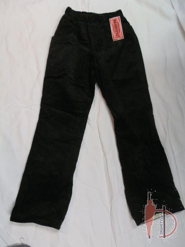Manšestrové kalhoty zateplené 122 ff1b17136a