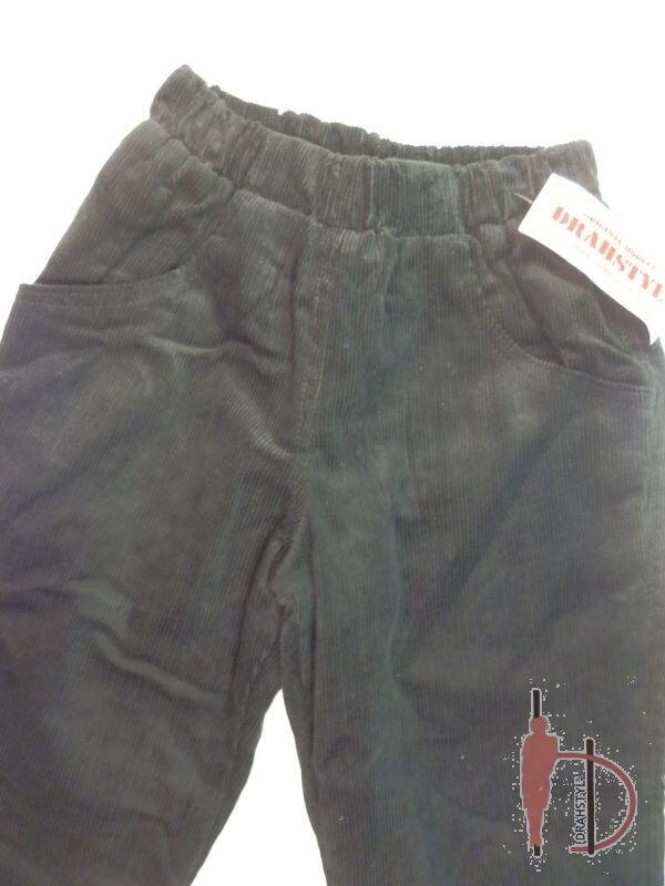 Manšestrové kalhoty zateplené 122 740303688f